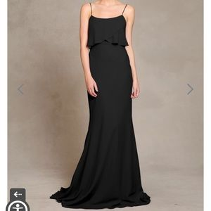 Jenny Yoo Blake Bridesmaid dress black